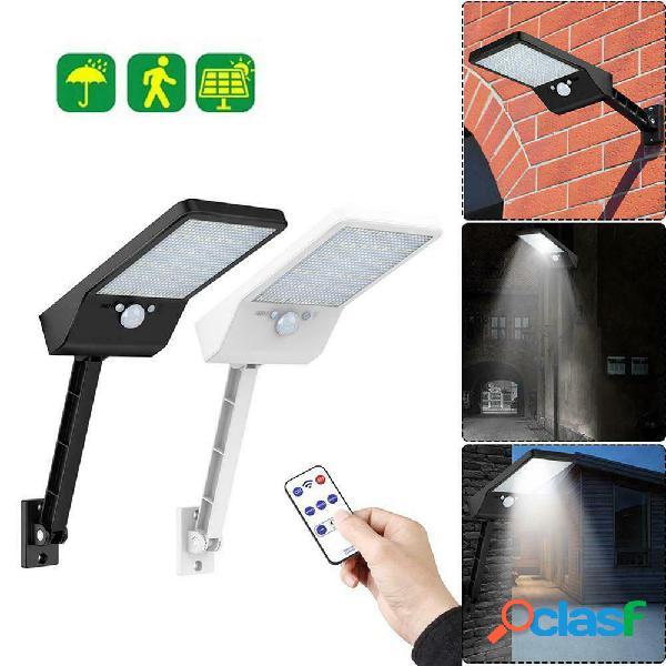 48 LED solare Lampada da parete PIR Sensore di movimento
