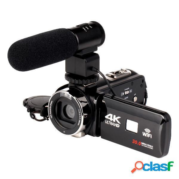 4K WiFi Ultra HD 1080P 16X ZOOM Video digitale fotografica