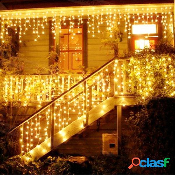 4M Striscia di 96 Lampadine LED 110-220V Decorazione