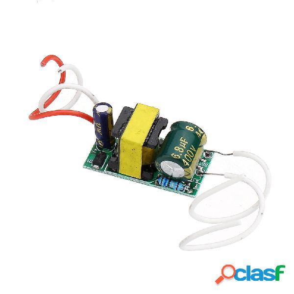 4W 5W 6W 7W LED Driver Input AC85-265V Alimentatore Drive