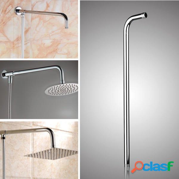 50x10 centimetri in acciaio inox a parete doccia staffa