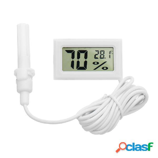 5Pcs Mini LCD Digital Termometro Igrometro Frigorifero