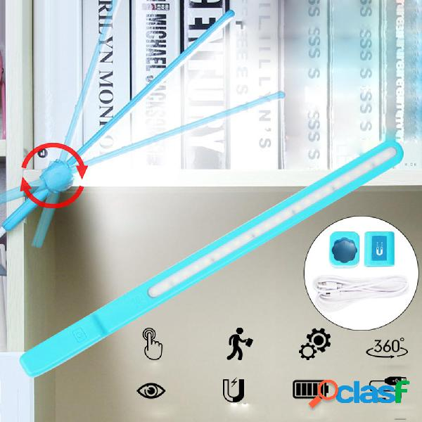 5W 24 LED USB Strip Bar Table Desk lampada Night Light per