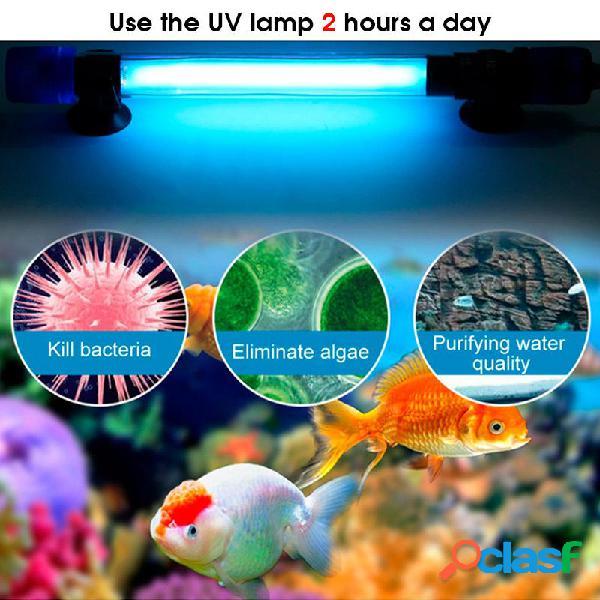 5W / 7W / 9W / 11W / 20W Filtro per acquario Sommergibile a