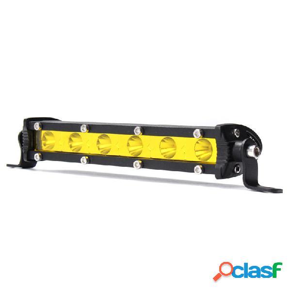 7 Pollici 18W LED Barra luminosa da lavoro Fascio posto