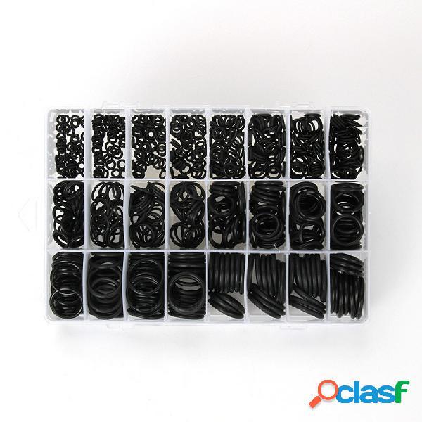710PCS Guarnizioni o-ring in gomma con anello Kit di