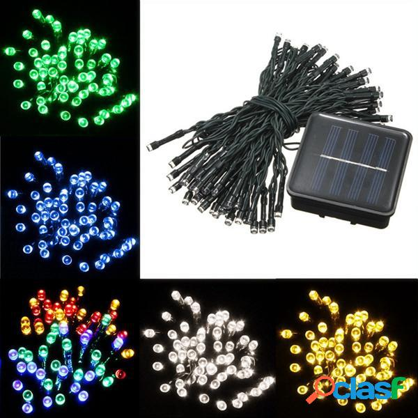 8M 60 LED solare Power String Fairy Light Outdoor Party