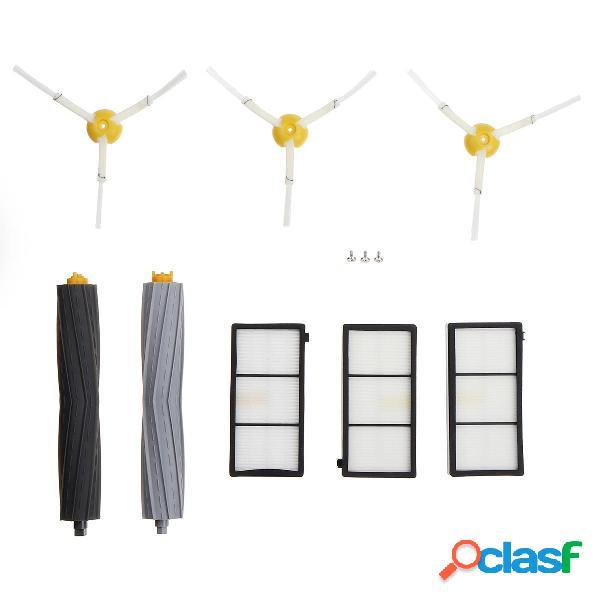 8pcs Sweeper Accessories Set Side Pennello Filtri Accessori