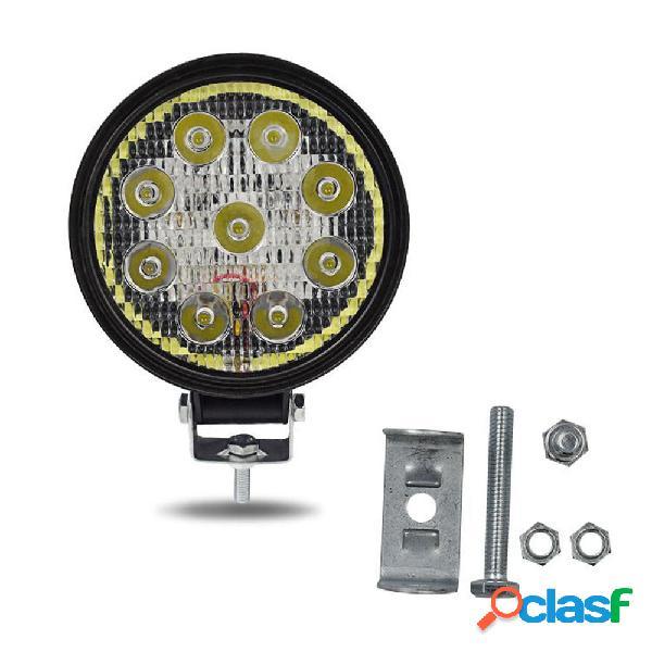 9V-85V 27W LED Faro da lavoro impermeabile faro bianco /