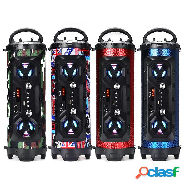A28 Portatile bluetooth Super Bass Speaker Phone Holder TF