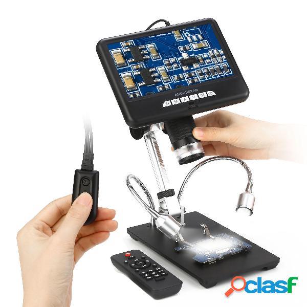 Andonstar AD207 Microscopio digitale 3D da 7 pollici