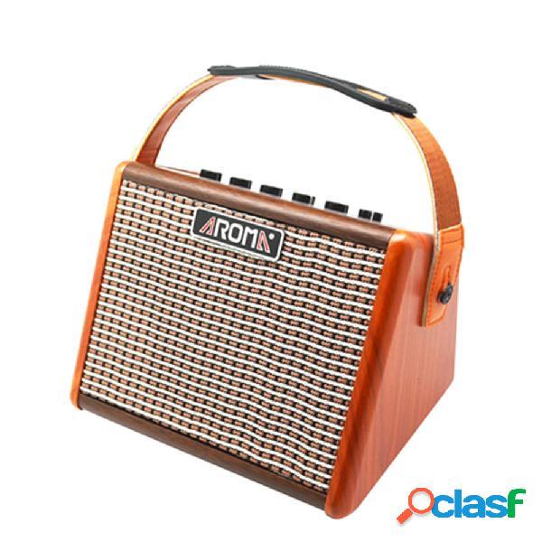 Aroma AG-15A Amplificatore per chitarra acustica da 15 W con