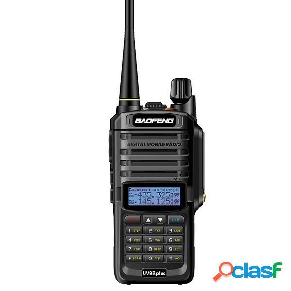 BAOFENG UV-9R Plus Walkie Talkie VHF UHF Dual Banda Palmare