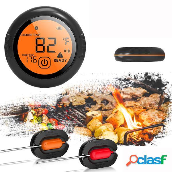 Bluetooth Wireless Smart Meat Termometro 2 sonde per IOS