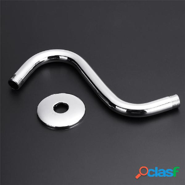 Braccio estensibile per doccia in acciaio inox S-Curved