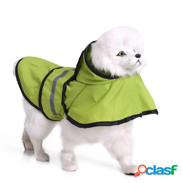 Cane impermeabile Abbigliamento per cani di grandi