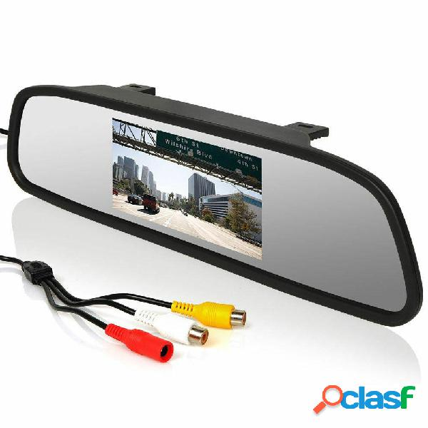 Car Rear View 5 Pollici LCD Kit monitor retromarcia Wireless