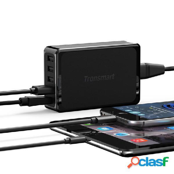 Caricatore USB a 5 porte Tronsmart U5P Caricabatterie USB