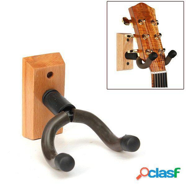 Chitarra di base in legno appendiabiti parete montaggio