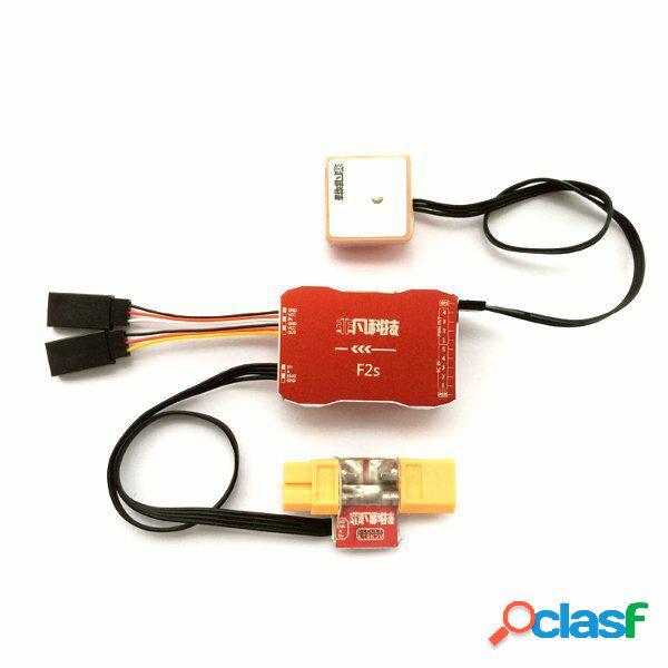 Controllore di volo F2S con m8n GPS XT60 galvanometro per