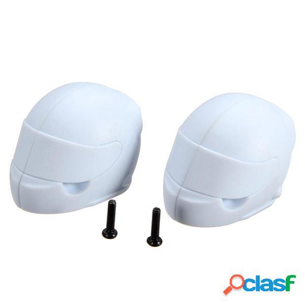 Corsa fs 1/10 deserto buggy bianco casco colore 2pcs 539.087