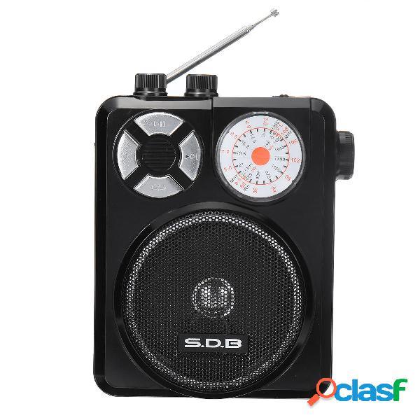 DC 3V FM AM TV SW Canale completo Banda Radio Altoparlante