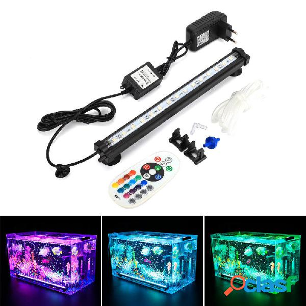 DOCEAN LED Acquario RGB 28cm 16 colori RF remoto Acquario