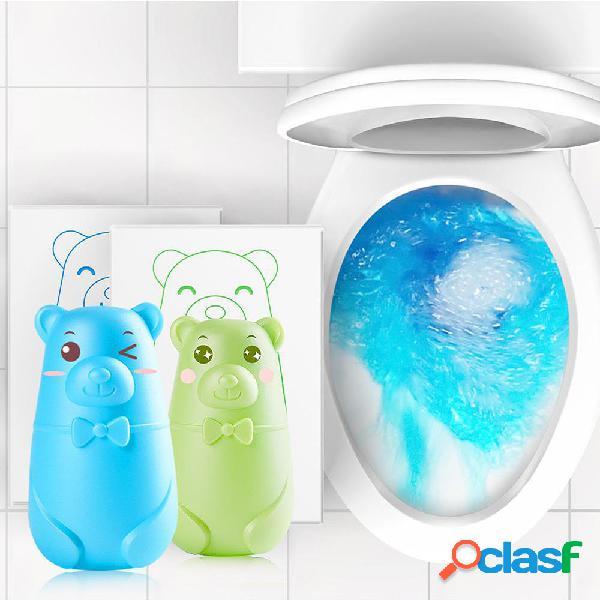 Detergente per toilette con orso carino automatico Magia
