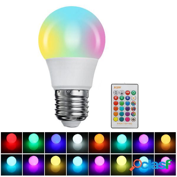 Dimmerabile 3W 5W 10W 15W RGBW 16 colori E27 luce a led