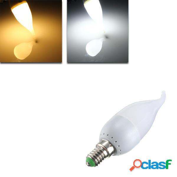 E14 3W Bianco Caldo LED Lampadina Candela Luce Lampadina a