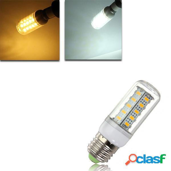 E27 LED 4.5w 36 smd 5730 caldo bianco / white coprire mais