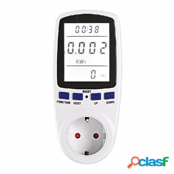 EU / UK / US Plug LCD Display misuratore di potenza