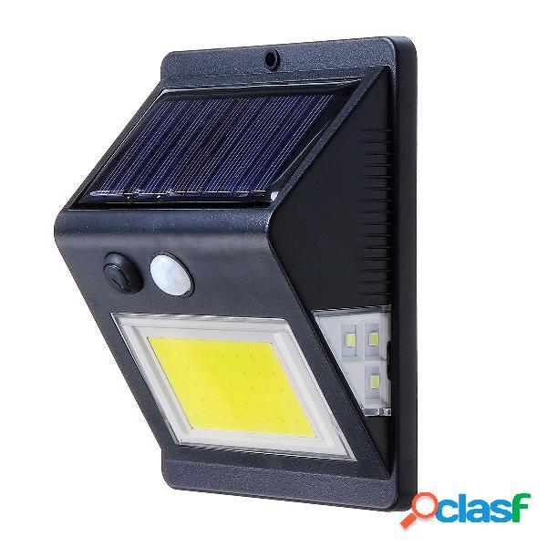 Energia solare 46 luce a led PIR Sensore di movimento Muro