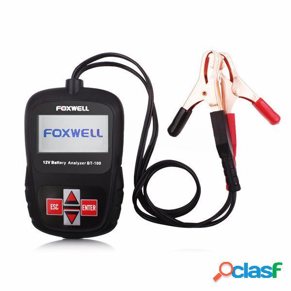 FOXWELL BT100 Tester Analizzatore Digitale di Batteria da