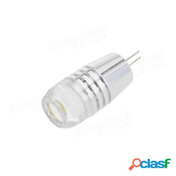 G4 2d luce LED 3w LED lampada ac / dc9-24v con lente