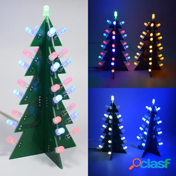 Geekcreit® Fai Da Te Kit di 3D LED Albero di Natale