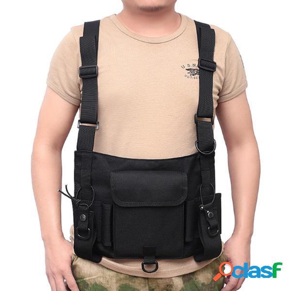 Gilet tattico militare Gilet tattico Borsa Gilet regolabile