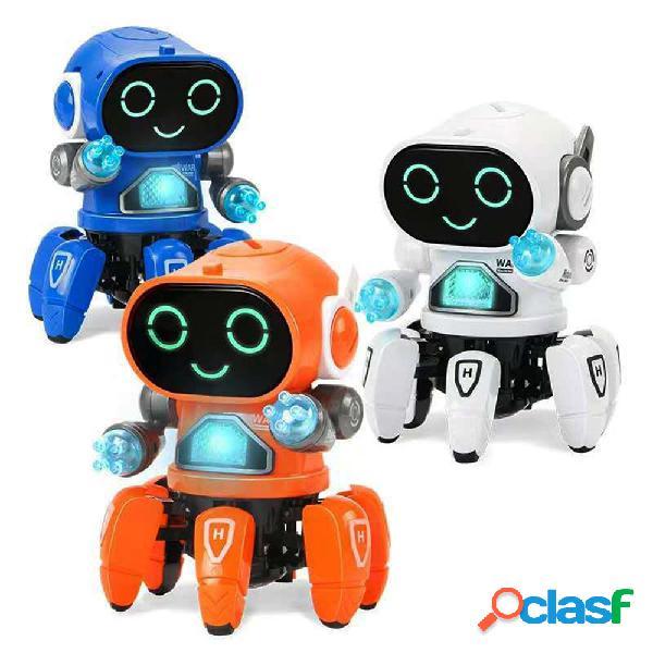 Giocattolo robot intelligente RC a 6 zampe fai da te cantare