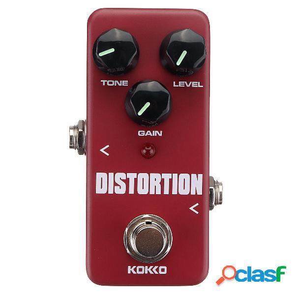 KOKKO FDS-2 Mini Distortion Pedale effetti per chitarra True