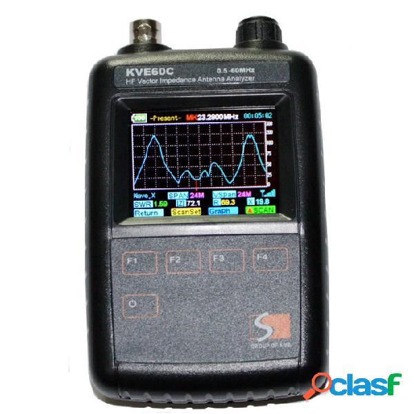 KVE60C HF vettore impedenza Antenna Analyzer per la