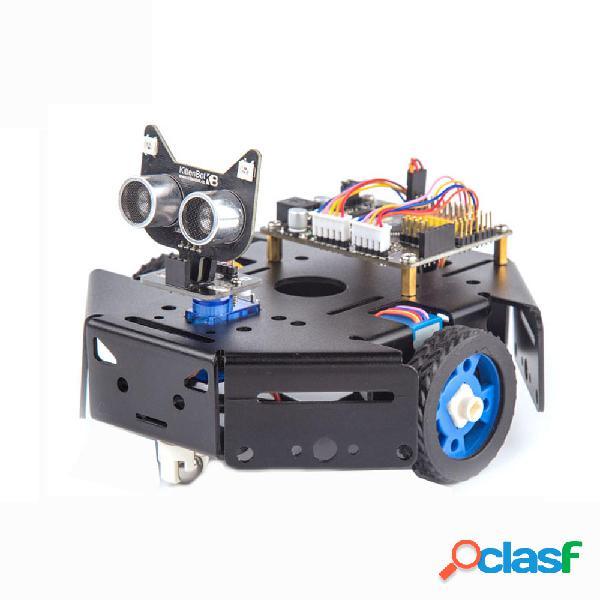 KittenBot Scratch Programming Robot intelligente Kit
