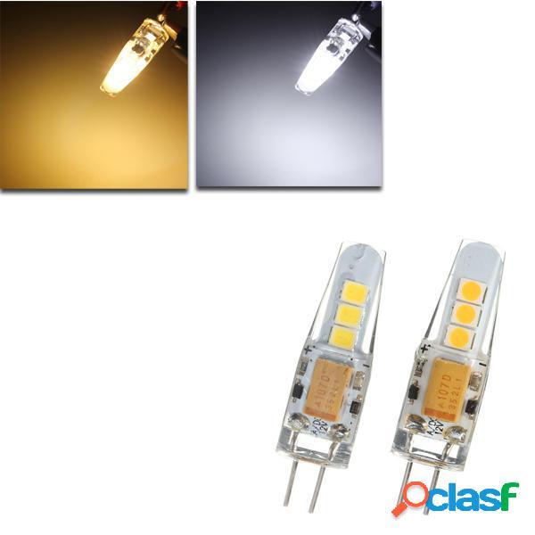 LED Mais lampadina 2W 6 SMD 2835 silicone luce della lampada