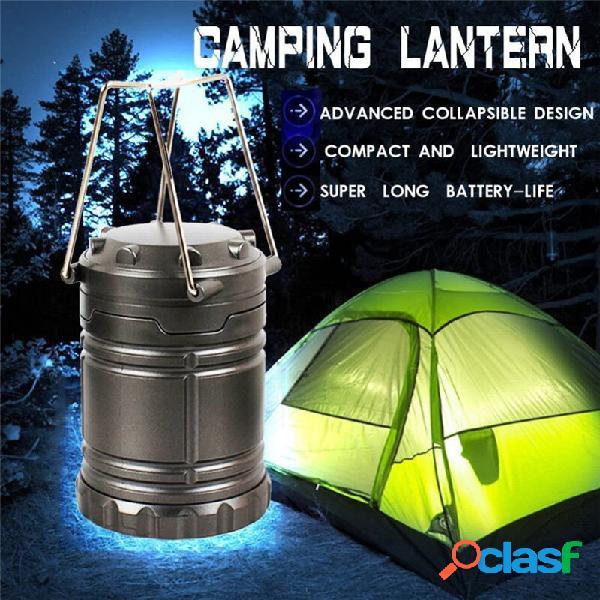 LED a pile campeggio Lanterna pensile portatile leggera