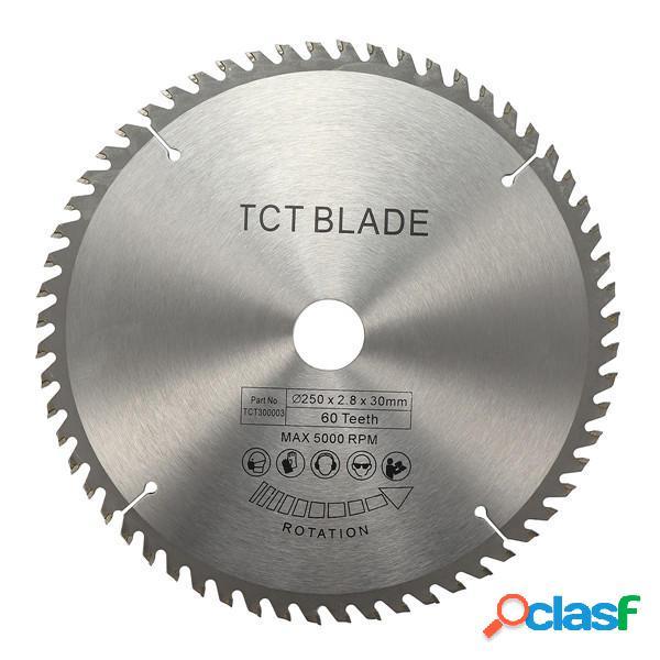 Lama per sega circolare TCT da 250 mm 60T per seghe Bosch