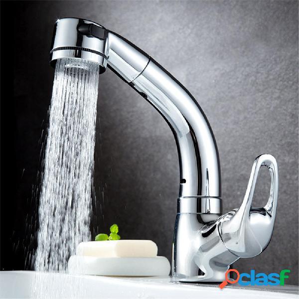 Lavabo BOiROO per bagno estraibile Miscelatore per lavabo ad