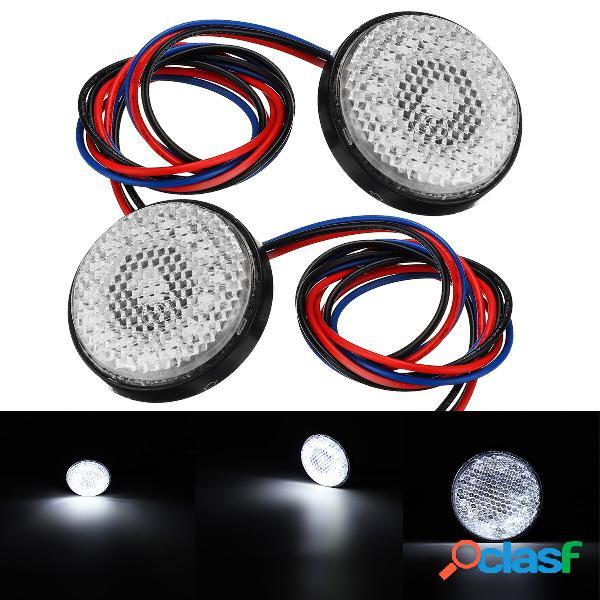 Luce di arresto freno posteriore bianco 2 pezzi lampada LED
