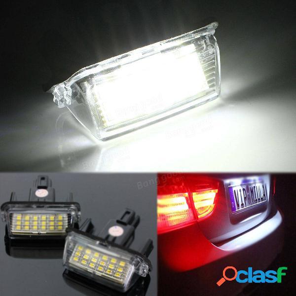Luci auto numero di targa 18 LED s lampada per Toyota Yaris