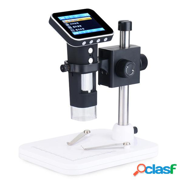 MicroScope fotografica USB portatile 500X con schermo da