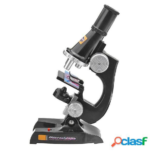 Microscopio Kit Lab 100X 200X 450X Giocattolo educativo per
