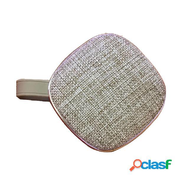 Mini altoparlante portatile Bluetooth del tessuto